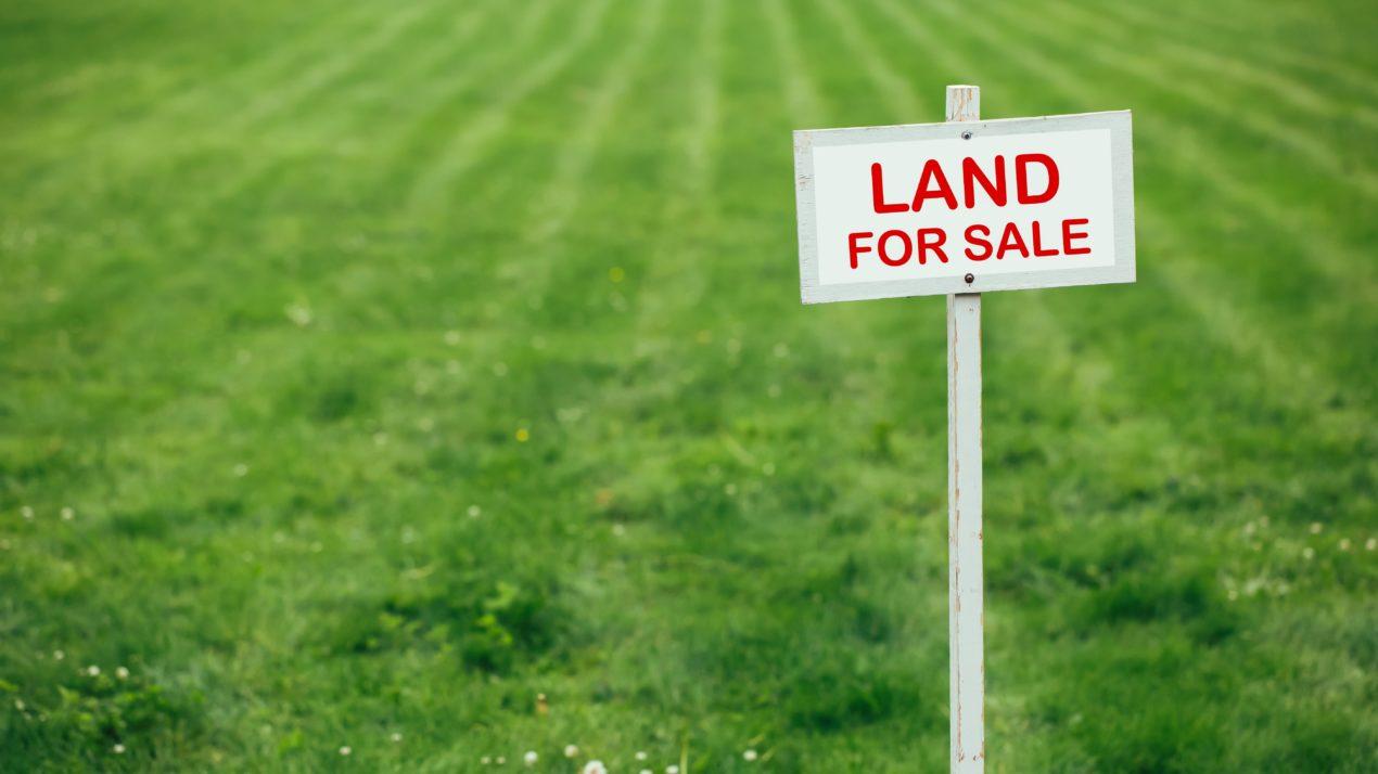 Keep An Eye On Land Values
