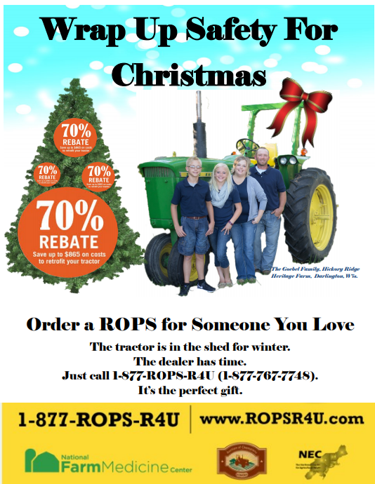ROPS Come With Rebate