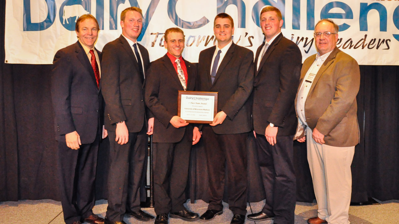 Wins National Intercollegiate Dairy Challenge