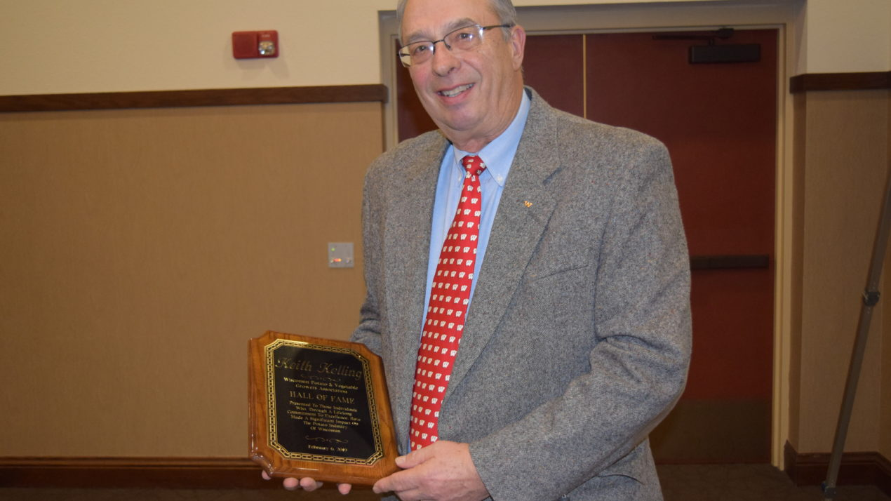 Kelling Inducted Into State Potato & Vegetable Hall Of Fame