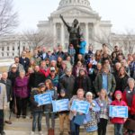 Wisconsin Farmers Union Members Head To State House In Madison For Lobby Day