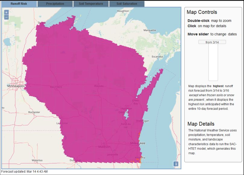 Pink Isn't Pretty On Wisconsin Maps