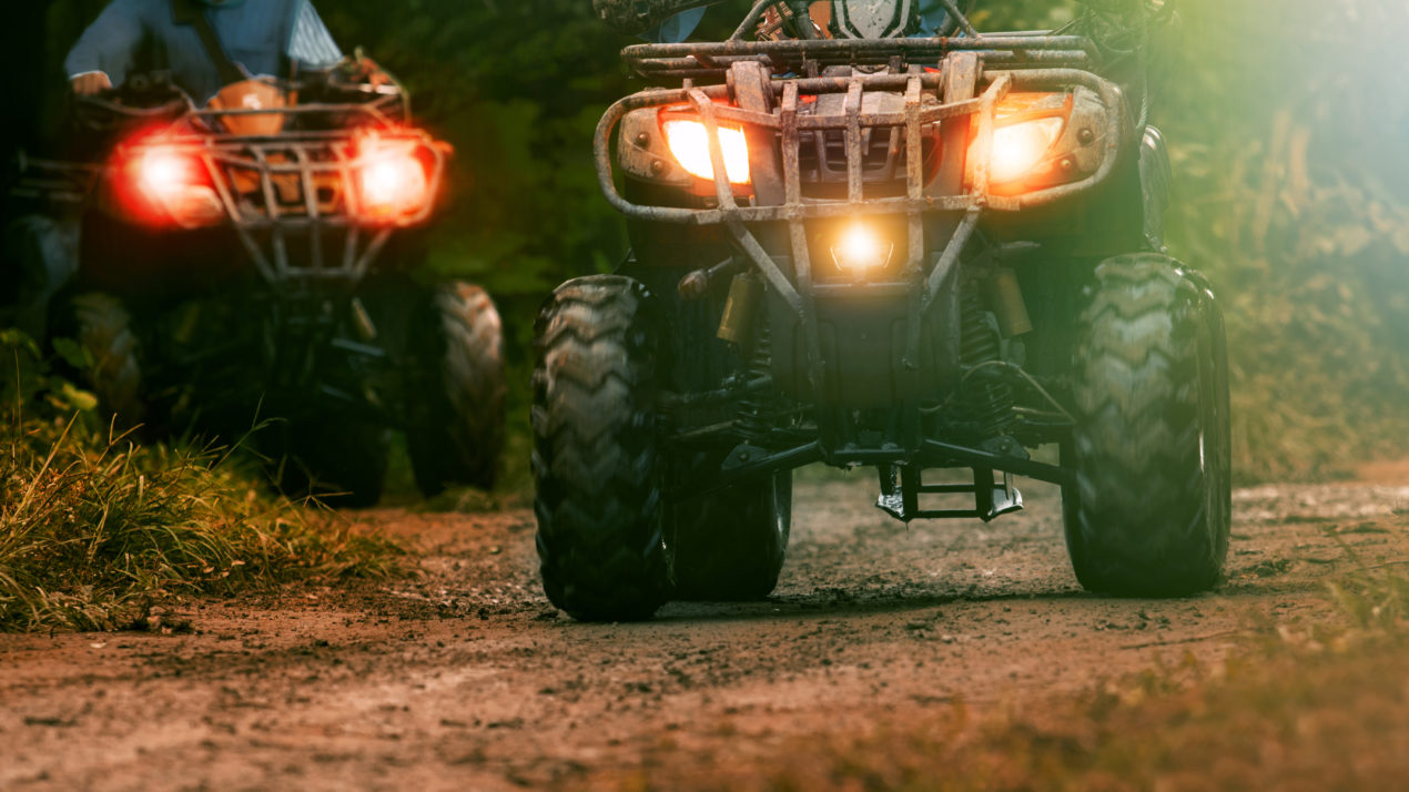 Motorists and ATV/UTV riders urged to share the road safely