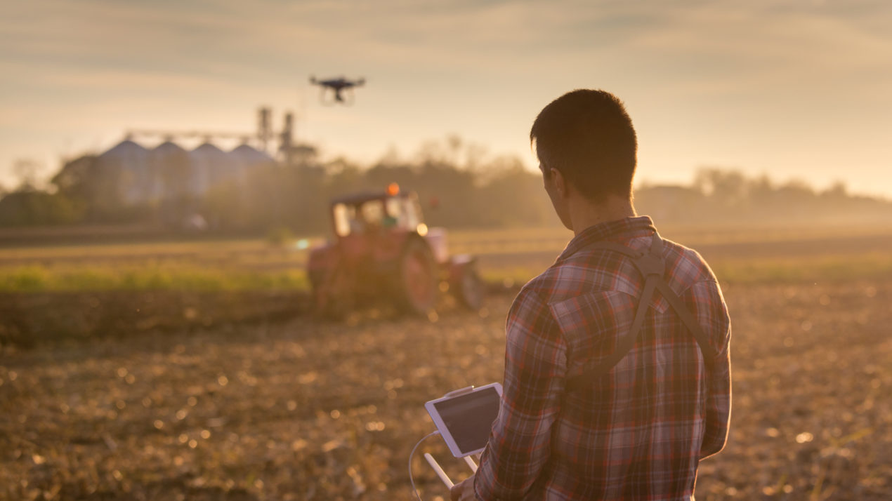 Drones Give New Way To Survey Crops