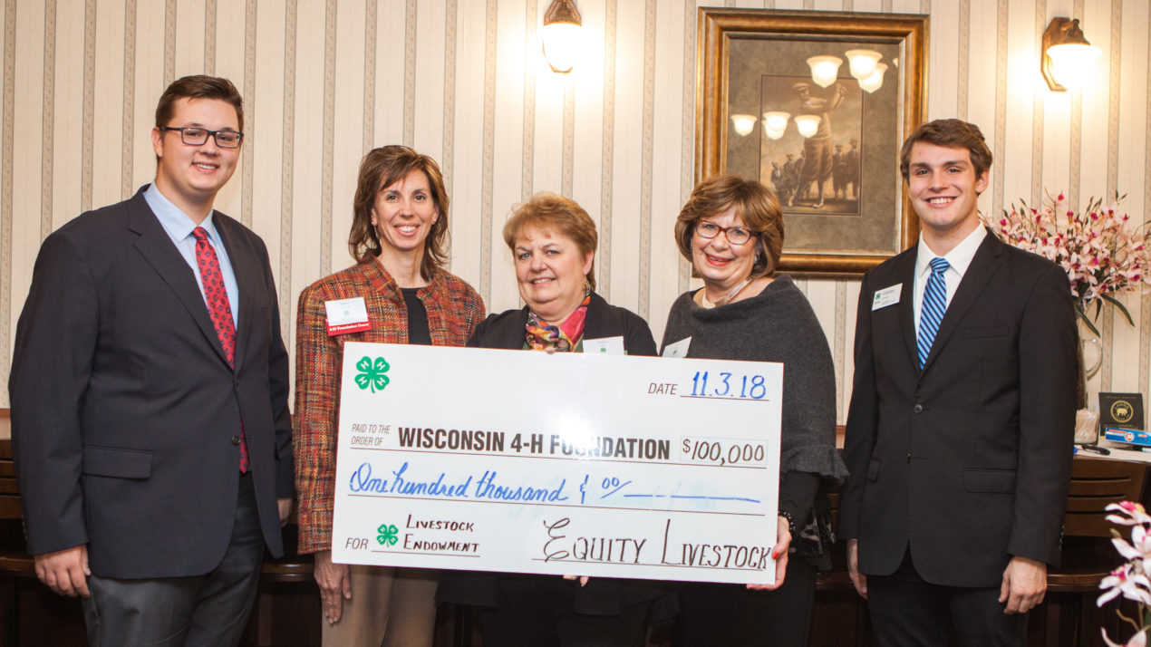 Equity Honored at 4-H Hall of Fame Gala