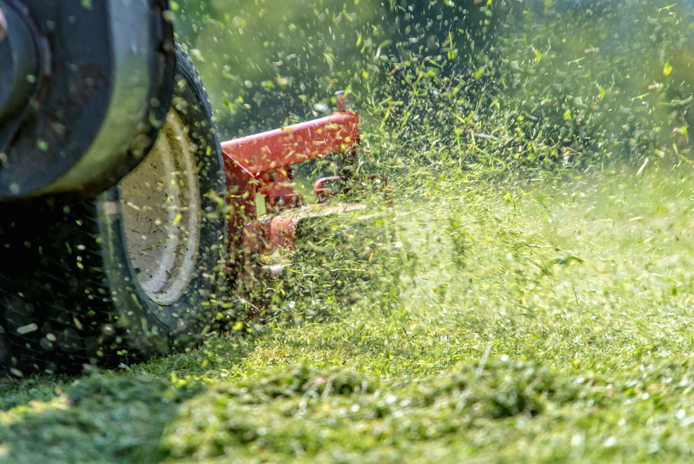 Keep Safety in Mind When Mowing the Lawn