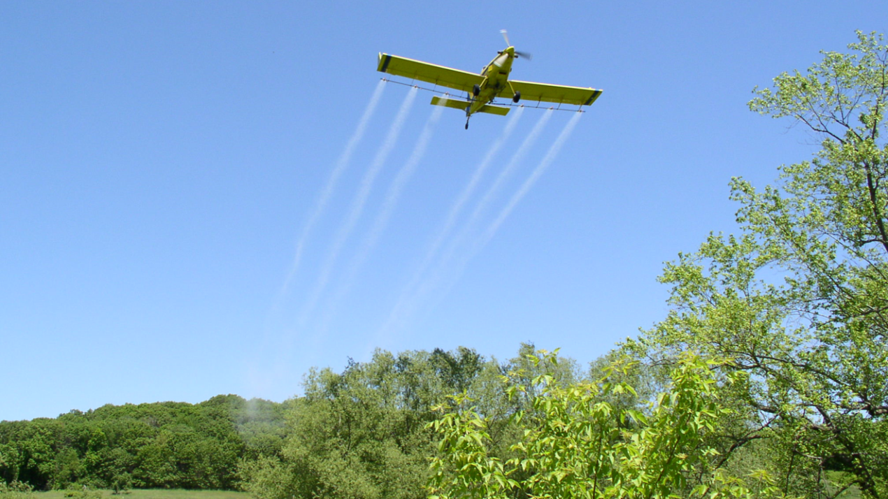 Gypsy Moth Aerial Treatment Update: 15-July-2019
