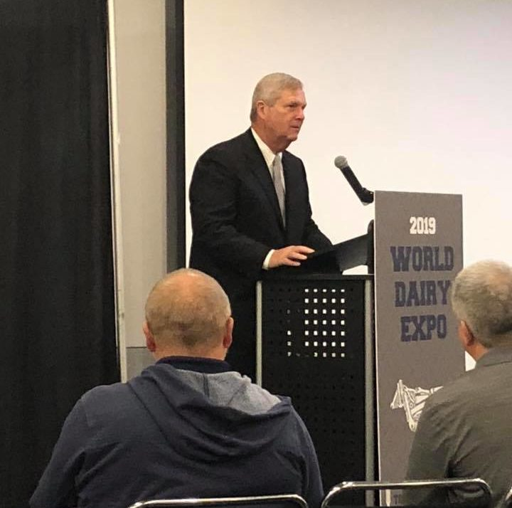 Vilsack cites reasons for long-range optimism about exports