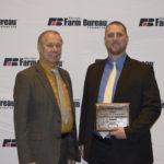 Ben Huber Wins Farm Bureau's Excellence in Agriculture Award