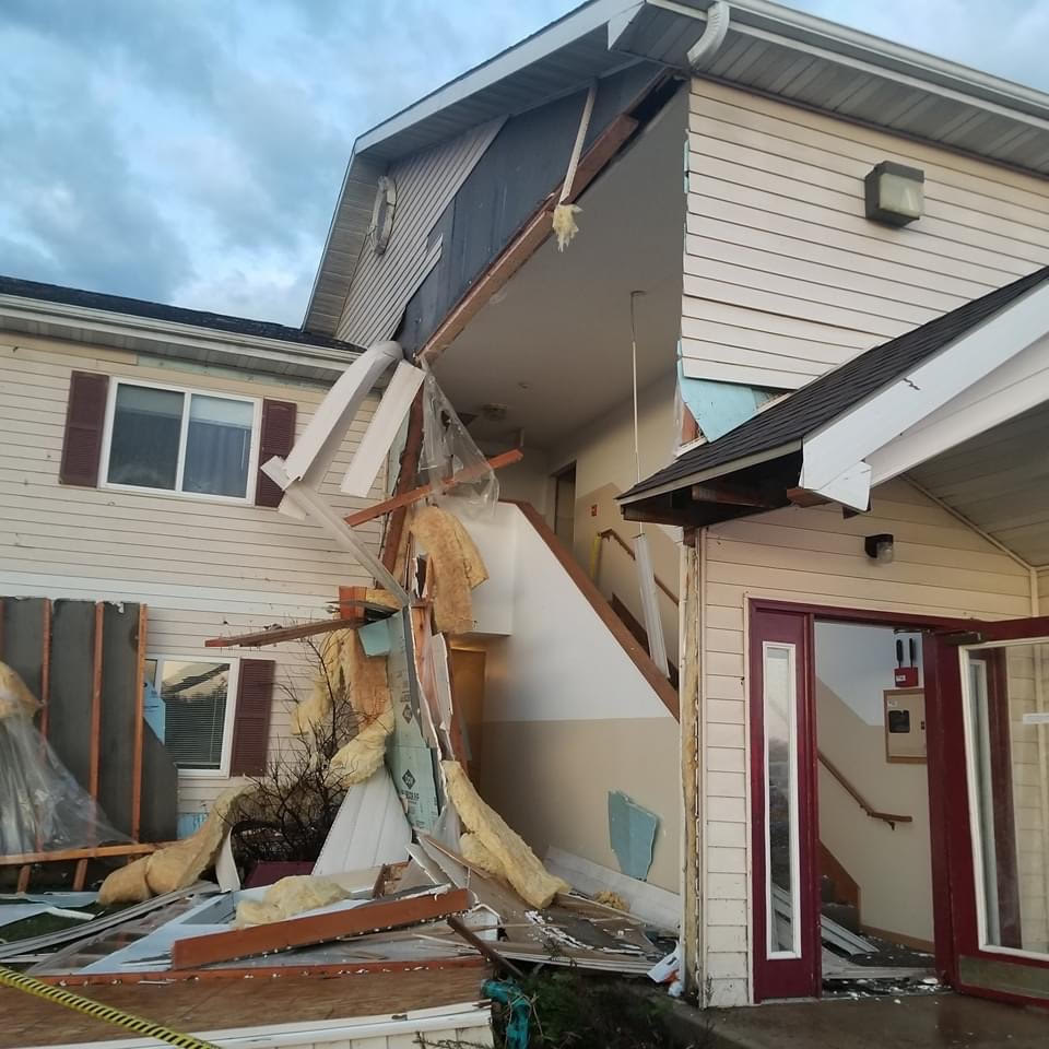 UPDATE: National Weather Service Says Tornado Caused