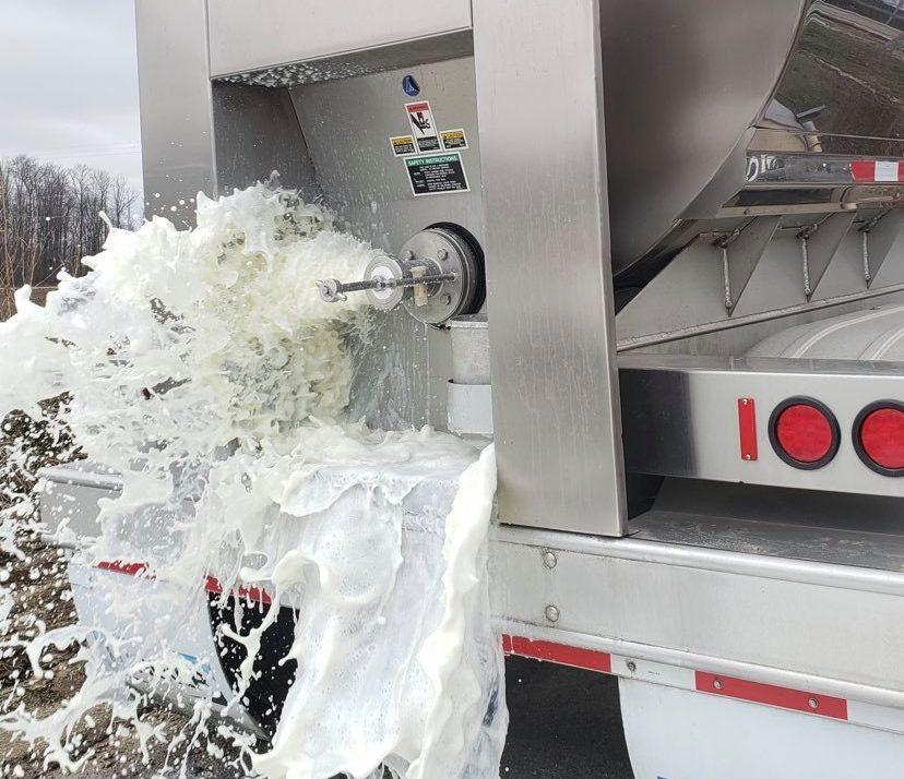 Dairy Farmers Of America Responds To Milk Dumping