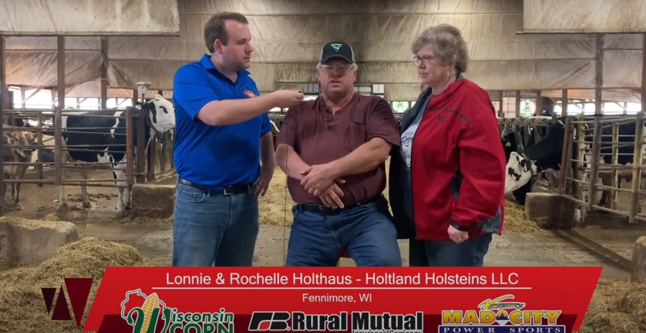 VIDEO: Farmer Salute with Lonnie & Rochelle Holthaus
