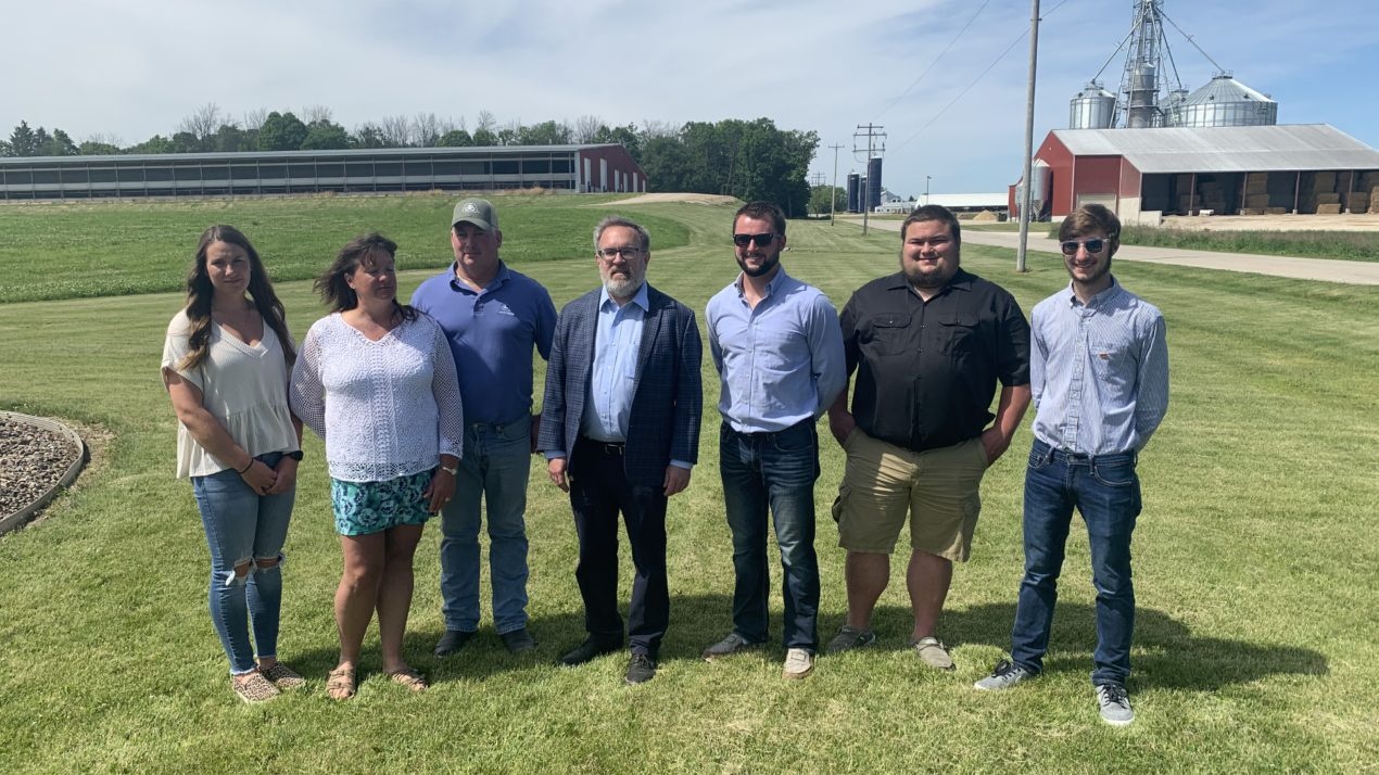 EPA Administrator Visits West Bend Dairy Farm