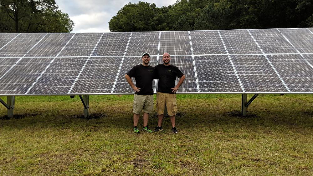 Shining light on energy options, Wisconsin brothers grow with solar business