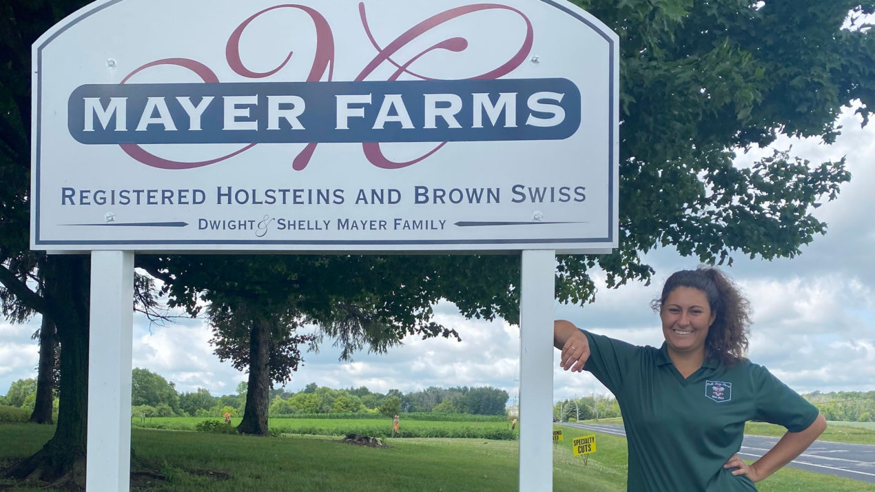 Colorado Student Learns About Cows and Production Ag While in Wisconsin