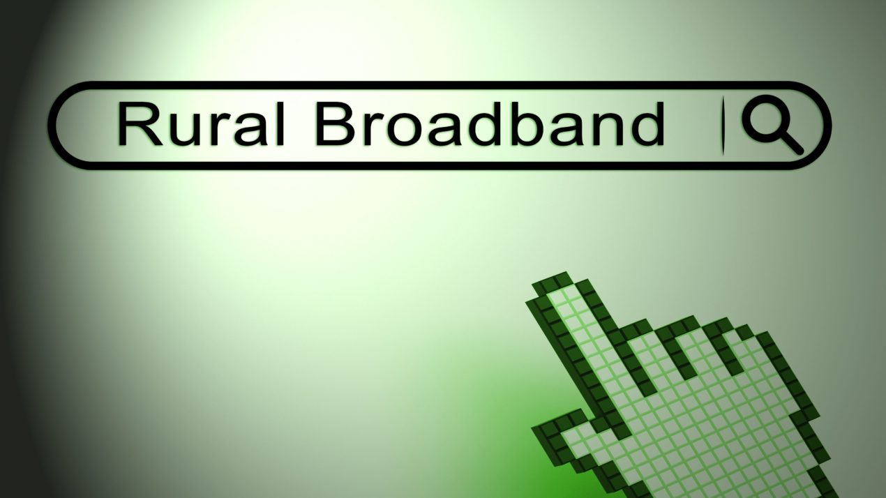 Rural Broadband Gets Some Encouragement