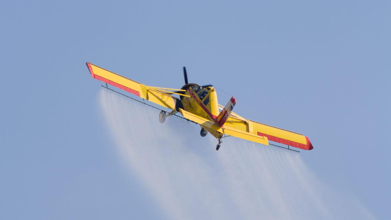 Gypsy Moth Aerial Spraying Continues