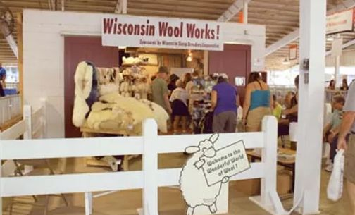 Wisconsin Wool Works Website Makes The Connection