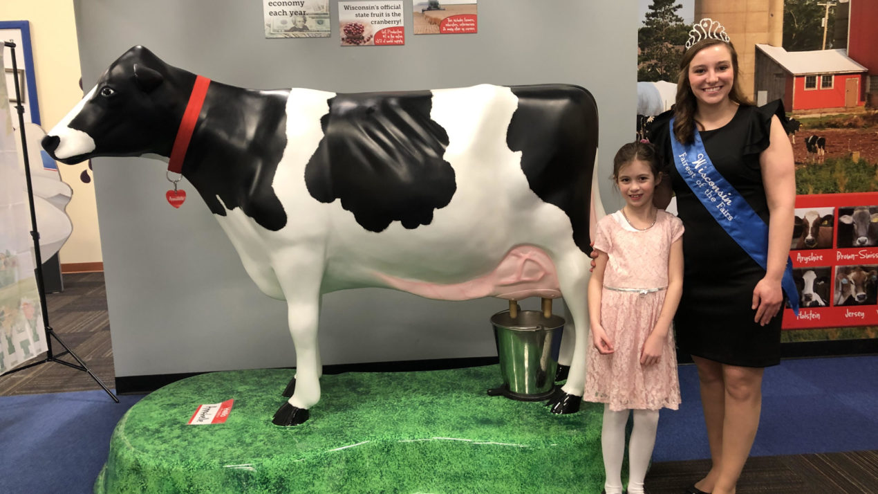 Keeping her boots on the ground, WI Fairest Cayley Vande Berg continues connecting with the fair industry