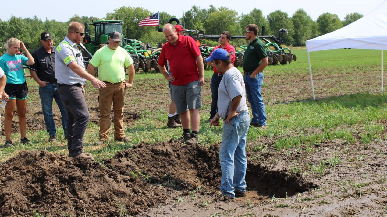 Calumet County Ag Stewardship Alliance Hosts Field Day