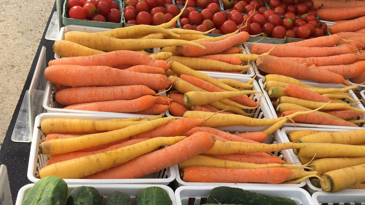 Dane County Farmers' Market will continue Hybrid Market through October 31st