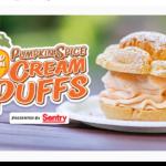 How About Pumpkin Spice Cream Puffs?