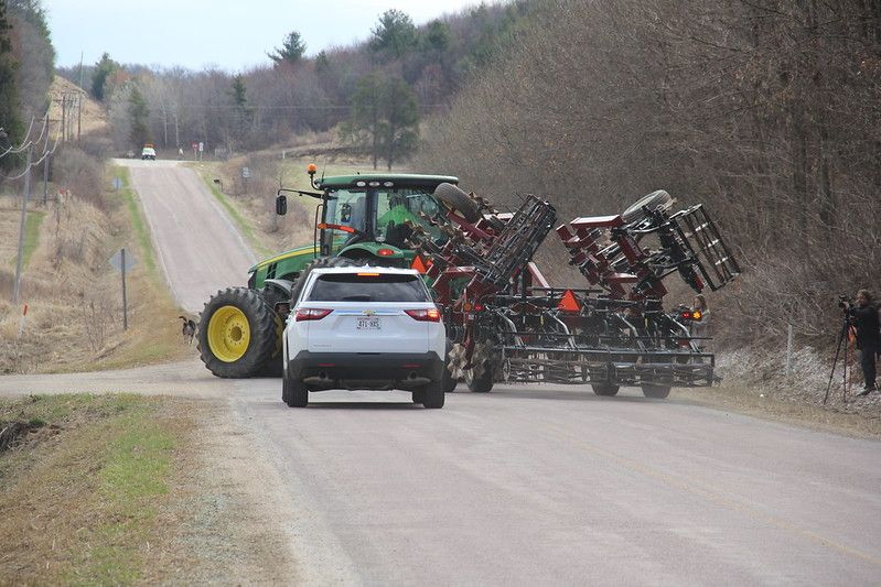 Road Safety Measures Become Key During Harvest