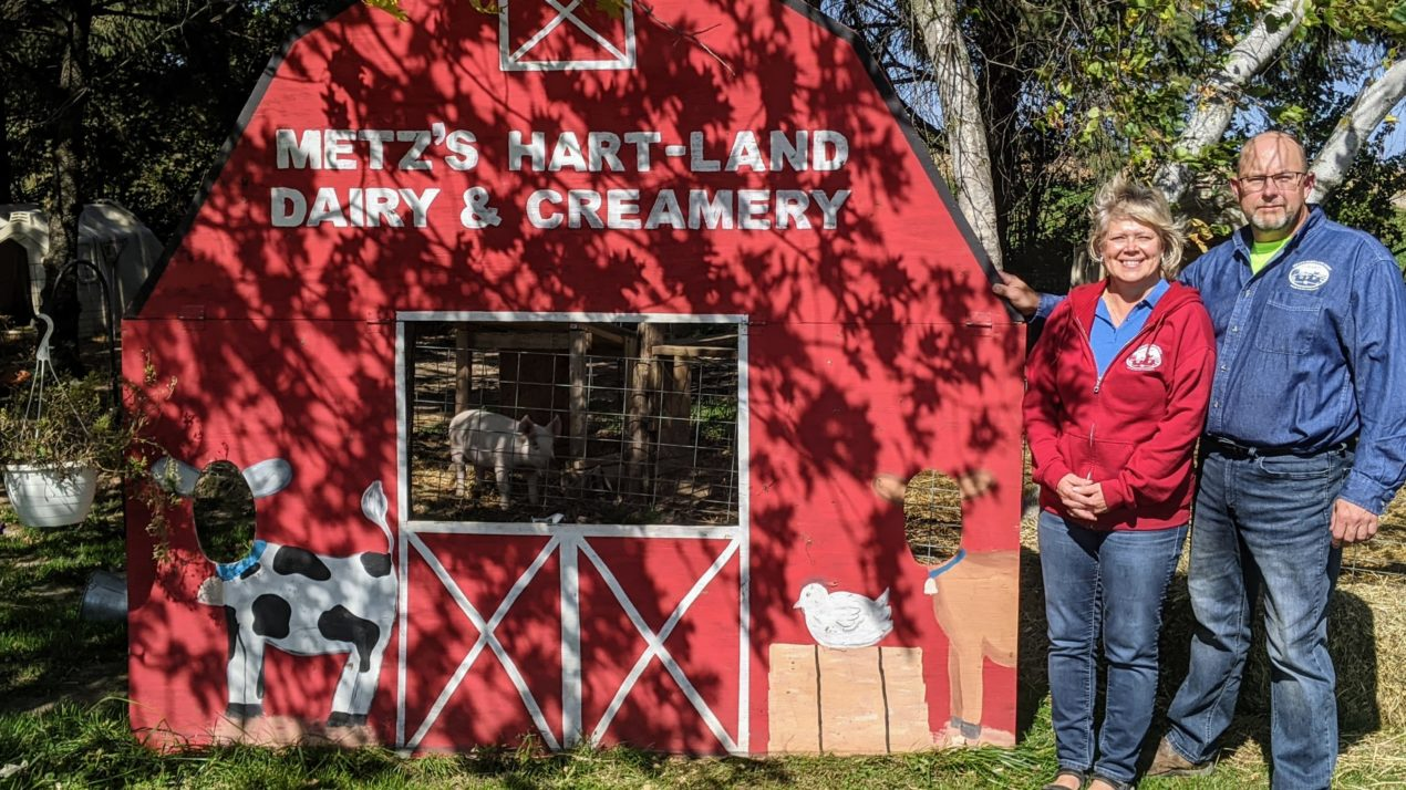 Minnesota family creates a connection between cows and consumers
