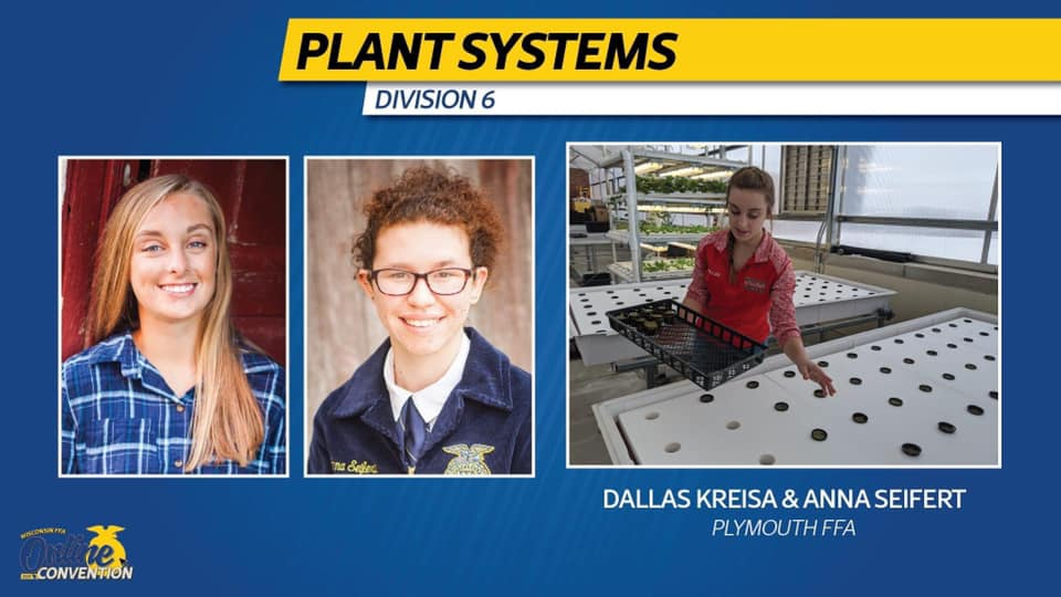 Plymouth FFA Members Named Finalists for National Agriscience Fair