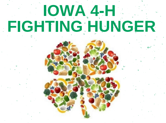 Statewide 4-H Council food drive helps Iowans battle hunger