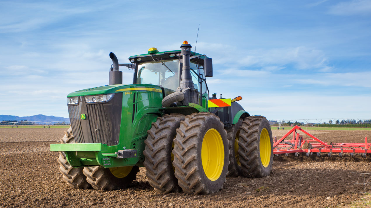 Tractor Sales Remain Positive