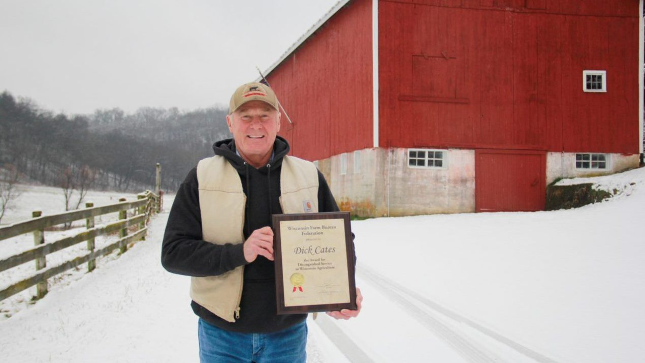 Cates Presented Distinguished Service Award