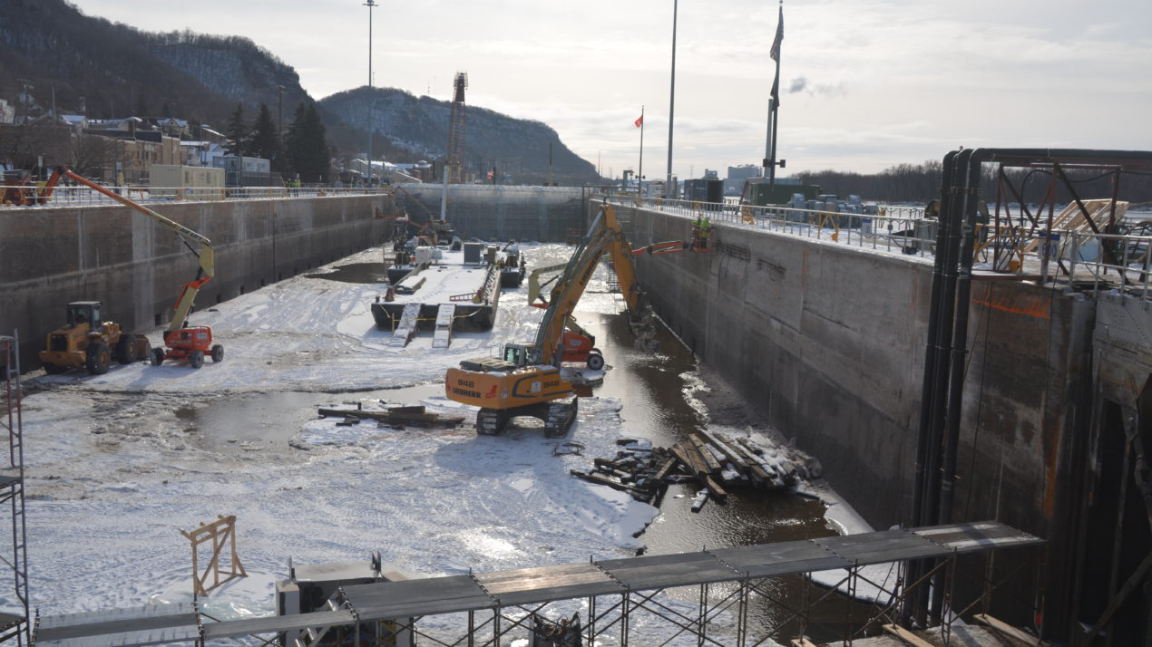 An important stop for waterway traffic, Lock and Dam 4 near Alma gets $4.5 million in upkeep