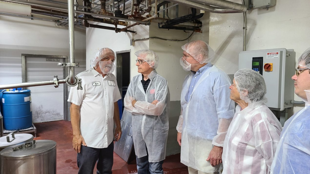 Governor Evers Visits Decatur Dairy