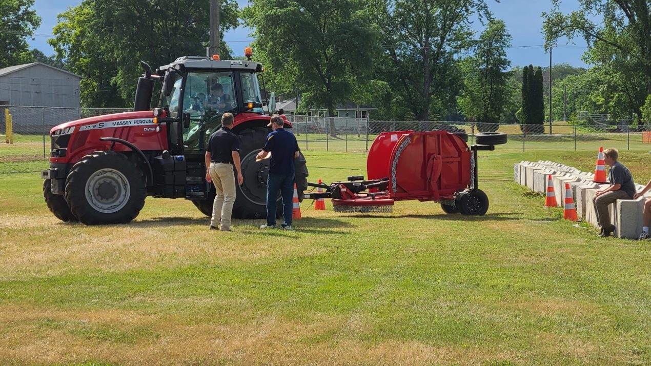 Youth Tractor Safety Emphasized