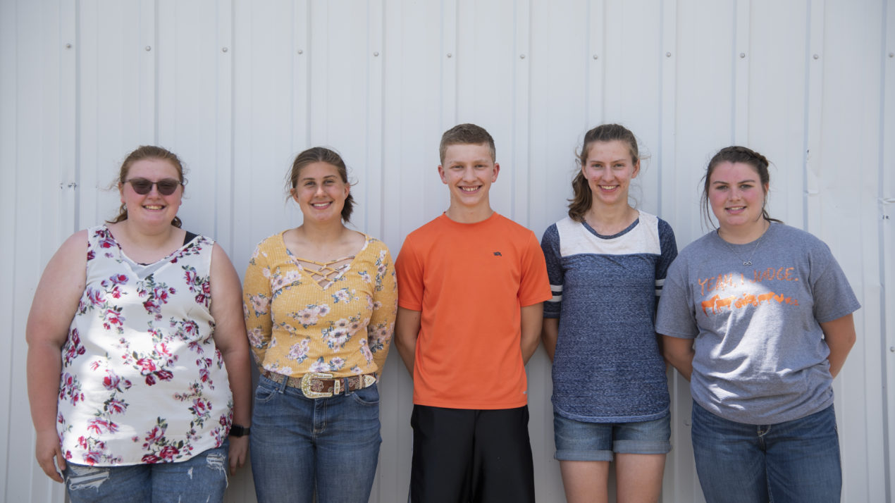 Grant County Tops 4-H Meats Judging
