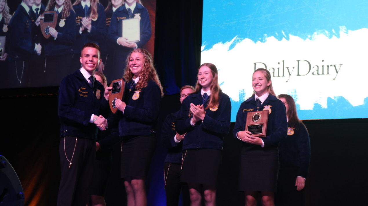 Students Excel At State FFA Convention
