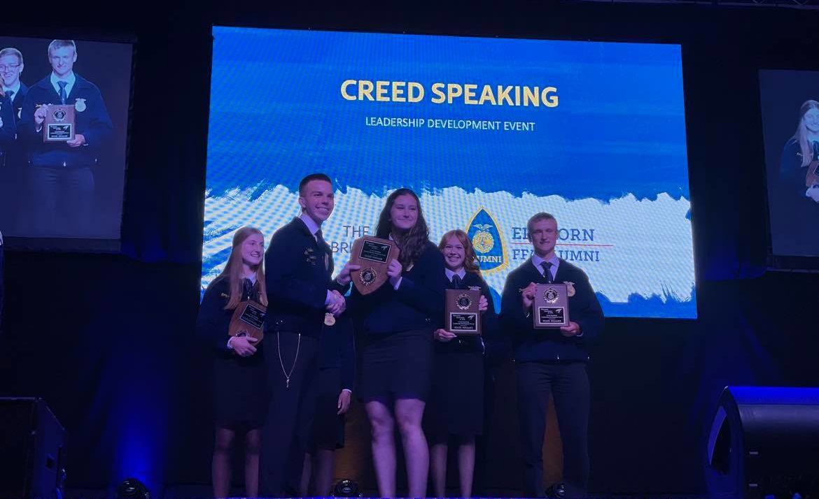 FFA Convention Overlaps With County Fair