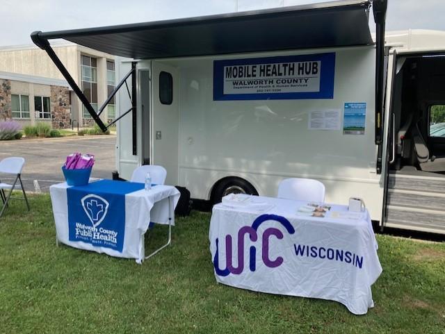Walworth County Health Goes Mobile