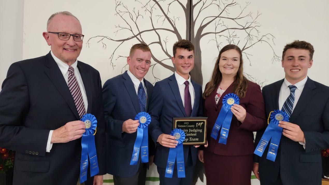 Minnesota Tops Local Dairy Judging Contest