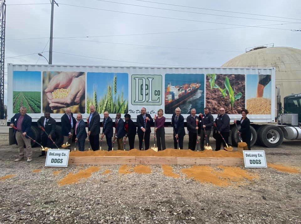 New Facility, New Grain Exports