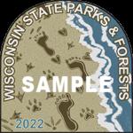 Design Chosen For 2022 State Park Sticker